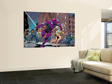 New Thunderbolts No.10 Group: Swordsman and Joystick Riding Wall Mural by Tom Grummett