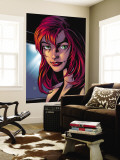 Ultimate Spider-Man No.78 Headshot: Mary Jane Watson Wall Mural by Mark Bagley
