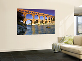 Canoeing Near Pont Du Gard Wall Mural by Glenn Beanland