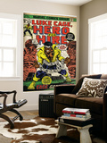 Marvel Comics Retro: Luke Cage, Hero for Hire Comic Book Cover No.15, in Chains (aged) Wall Mural
