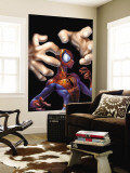 Ultimate Spider-Man No.9 Cover: Spider-Man and Kingpin Wall Mural by Mark Bagley