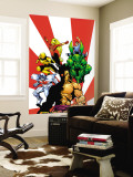 The Official Handbook Of The Marvel Universe Teams 2005 Group: Sunfire Wall Mural by Gus Vazquez