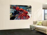 The Sensational Spider-Man 23 Cover: Spider-Man Reproduction murale géante par Angel Medina