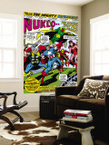 Giant-Size Avengers No.1 Group: Iron Man, Captain America, Thor, Vision and Scarlet Witch Wall Mural by Rich Buckler