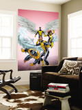 X-Men: First Class No.11 Cover: Cyclops, Beast, Angel, Iceman and Marvel Girl Wall Mural by Carlo Pagulayan