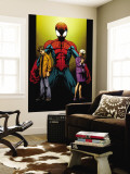 Ultimate Spider-Man No.111 Cover: Spider-Man, Peter and May Parker Wall Mural by Mark Bagley
