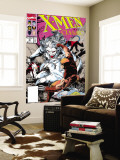 X-Men Classic No.46 Cover: Wendigo, Wolverine and Nightcrawler Wall Mural by Steve Lightle