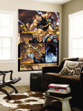 New Warriors No.2 Group: Wolverine, Colossus, Blob, Wind Dancer and Surge Wall Mural by Paco Medina