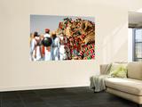 Camel Decoration at Desert Festival Wall Mural by John Sones