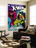 X-Men : Days Of Future Past Cove Cover: Wolverine and Sentinel Wall Mural by Jackson Guice