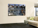 Victorian Seafront Homes, Whitstable Wall Mural by Doug McKinlay