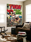 Marvel Comics Retro: The Mighty Thor Comic Book Cover No.128, Hercules (aged) Wall Mural