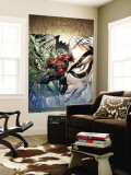 Sensational Spider-Man 24 Cover: Spider-Man, Lizard and Black Cat Wall Mural by Angel Medina