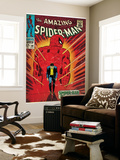 Marvel Comics Retro: The Amazing Spider-Man Comic Book Cover No.50, Spider-Man No More! (aged) Wall Mural