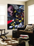X-Men: Legacy No.208 Cover: Cyclops, Iceman, Marvel Girl, Beast and Angel Wall Mural by David Finch