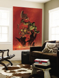 Incredible Hulk No.93 Cover: Hulk and Miek Wall Mural by Brandon Peterson