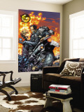 Ghost Rider V3 3 Cover: Gunmetal Gray Wall Mural by Trent Kaniuga
