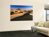 Sand Dunes of Ilekane in Tenere Part of Sahara Desert Near Agadez Wall Mural by Frans Lemmens