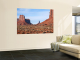Buttes and Mesas of Monument Valley Wall Mural by Feargus Cooney