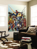Last Hero Standing No.1 Cover: Spider-Man Wall Mural by Scott Hanna