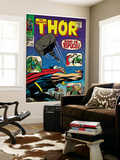 Marvel Comics Retro: The Mighty Thor Comic Book Cover No.141, Who is Replicus (aged) Wall Mural