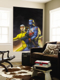 The New Invaders 5 Cover: Union Jack and Spitfire Wall Mural by Scott Kolins