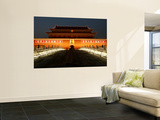 Night at Tiananmen, the Gate of Heavenly Peace Wall Mural by Bruce Bi