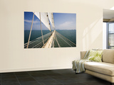 Bowsprit of Star Clipper Cruiseship Star Flyer Wall Mural by Holger Leue