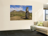 Rano Raraku Moai Quarry Wall Mural by John Elk III