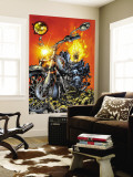 Ghost Rider V3 1 Cover: Ghost Rider Wall Mural by Trent Kaniuga