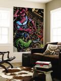 Powerless No.1 Group: Galactus, Hulk, Silver Surfer and Thor Wandgemälde von Michael Gaydos