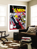 Classic X-Men 24: Storm, Angel, Shadowcat and Colossus Wall Mural by Paul Smith