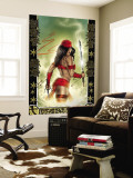Elektra No.33 Cover: Elektra Wall Mural by Tom Fleming