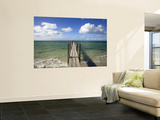 Quindalup Jetty Meeting Horizon Wall Mural by Oliver Strewe