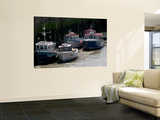 Fishing Boats at Low Tide Wall Mural by Doug McKinlay