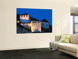Feldkirch Castle at Twilight Wall Mural by Richard Nebesky
