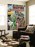 Giant-Size Avengers No.4 Cover: Vision, Scarlet Witch, Thor, Iron Man and Dormammu Wall Mural by Don Heck