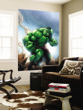 Marvel Age Hulk No.1 Cover: Hulk Wall Mural by Shane Davis