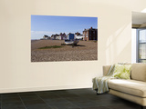 Pebble Beach and Seafront Buildings Wall Mural by Neil Setchfield