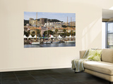 Ajaccio Port Wall Mural by Veronica Garbutt