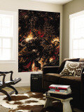 Ghost Rider 5 Cover: Ghost Rider Fighting Wall Mural