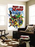 Giant-Size X-Men No.3 Cover: Wolverine, Cyclops, Nightcrawler and Sunfire Charging Malowidło ścienne autor Dave Cockrum