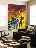 Fantastic Four No.510 Cover: Mr. Fantastic, Invisible Woman, Human Torch, Thing and Fantastic Four Wall Mural by Mike Wieringo