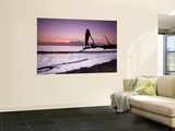 Secluded Beach at Sunset Wall Mural by Micah Wright