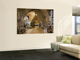 The Cardo in the Jewish Quarter Wall Mural by Izzet Keribar