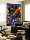 Marvel Knights Spider-Man No.11 Group: Captain America Wall Mural by Terry Dodson