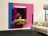 Colorful Walls and Window Wall Mural – Large by Dennis Walton