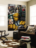 Marvel Comics Presents 1 Headshot: Thing Wall Mural by Nelson 