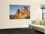 Natural Rock Citadel of Uchisar Wall Mural by Sean Caffrey