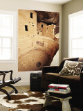 Spruce Tree House Cliff Dwelling Kiva Wall Mural by Stephen Saks